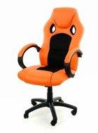 Fotel XRacer PRO pomarańczowo-czarny