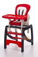 Krzesełko do karmienia 4w1 + płozy do bujania
