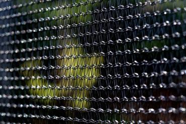 Trampolina składana 252cm z siatką ochronną i drabinką
