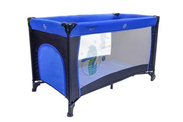 Kojec - łóżeczko turystyczne BASIC Blue