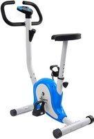 Rower treningowy mechaniczny Funfit Niebiesko-Biały F01