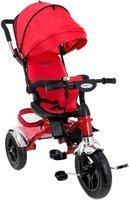 Rowerek trójkołowy z obracanym siedziskiem FUNFIT KIDS - czerwony