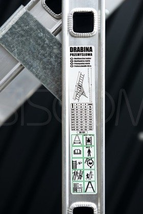 Drabina Aluminiowa 3x7 190cm