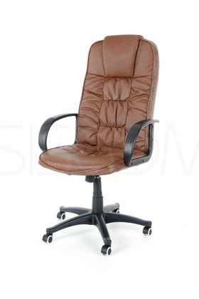 Fotel biurowy ECO BOSS - brązowy