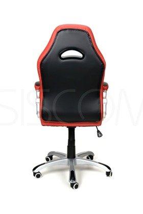Fotel biurowy XRacer czerwono-czarny
