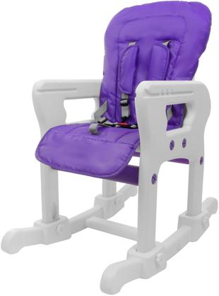 Krzesełko do karmienia 5w1 + stolik BABYMAXI - FIOLETOWE
