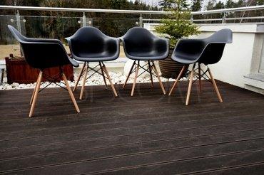 Krzesło - Fotel Cleo czarny