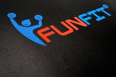 Ławka skośna z regulacją, składana FUNFIT