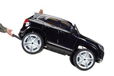 Pojazd akumulatorowy na licencji VW Touareg czarny