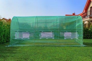 Tunel Foliowy ZIELONY z oknami - 6m2 = 300*200*200