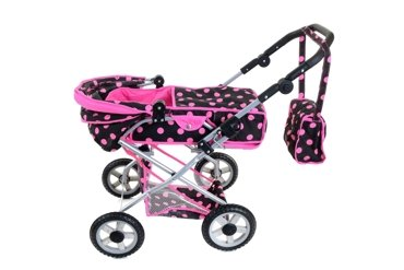 Wózek dla lalek + LALKA